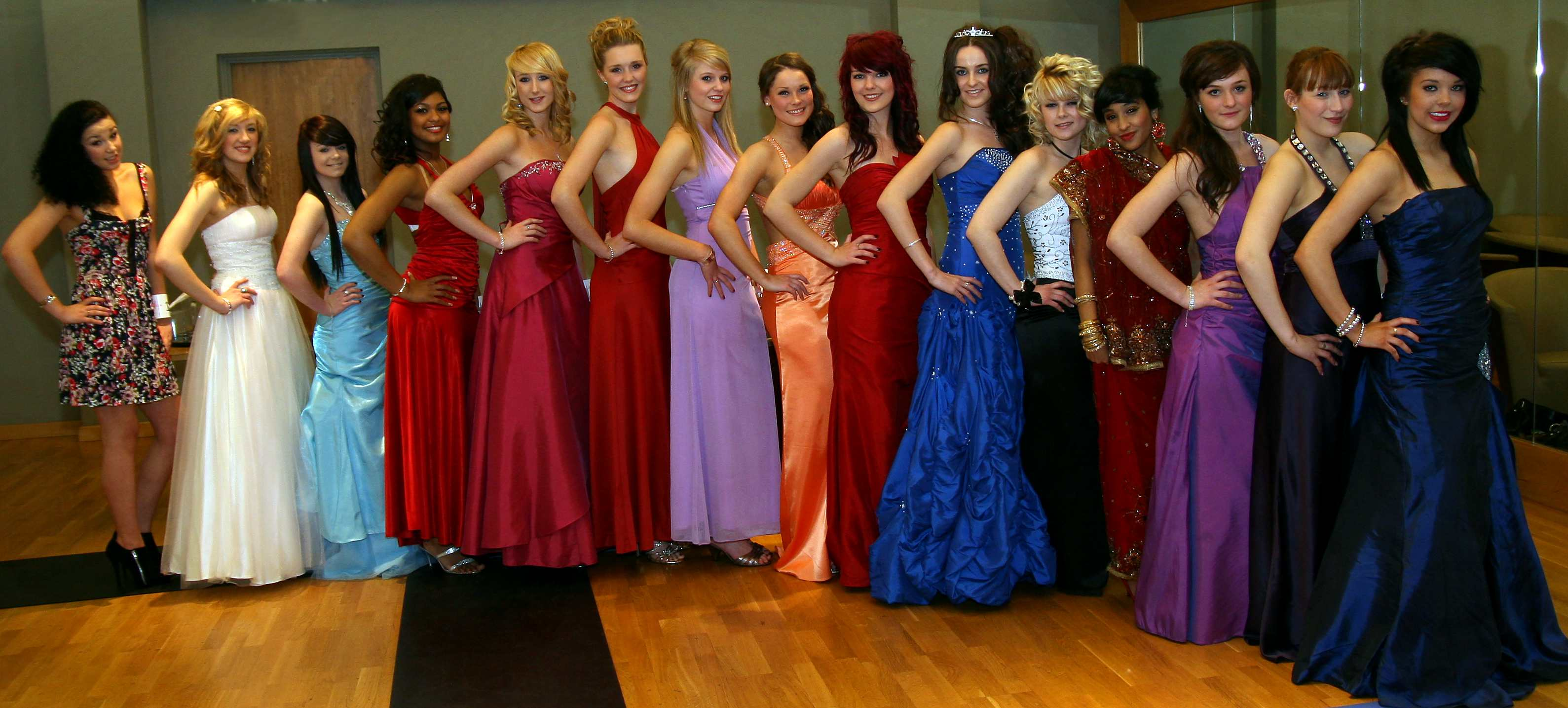 Group shot of potential Bower Queens
