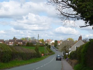 Street view of Main Road, Wigginton